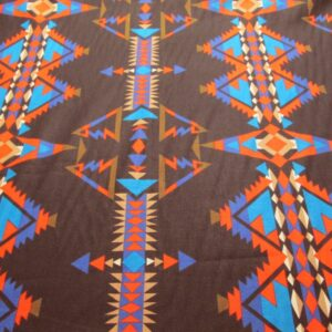 Black Southwest Indian Print