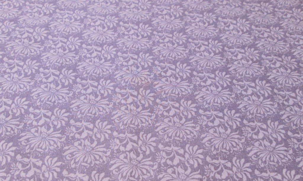 lavender floral cotton