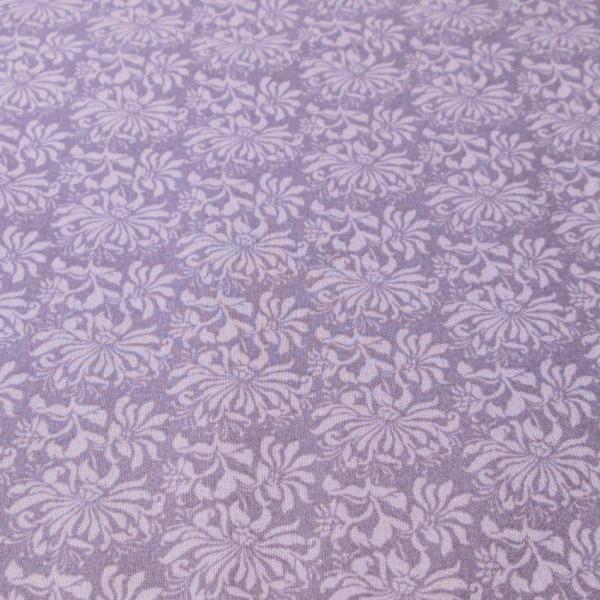 lavender floral cotton