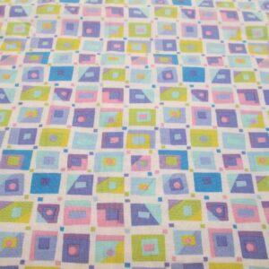 pastel squares
