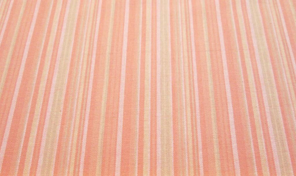 Salmon tan Stripes