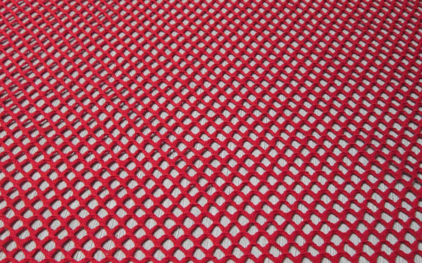 Cotton crochet net fabric in 7 colors bird city fabrics for Fabrics and materials