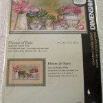 Dimensions Flowers of Paris cross stitch kit