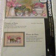 Dimensions Flowers of Paris cross stitch kit