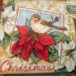 Nuthatch Christmas Ornaments Cross Stitch Kit