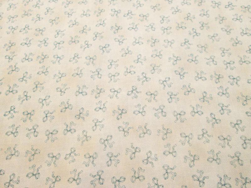 Daisy Kingdom Baby Bows Cotton Fabric