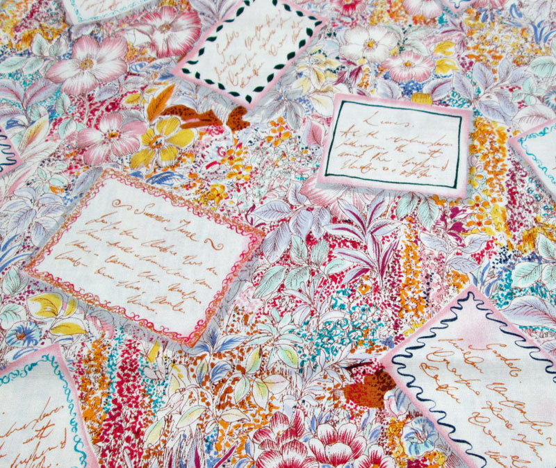 Flowers and Poems Alexander Henry Fabric