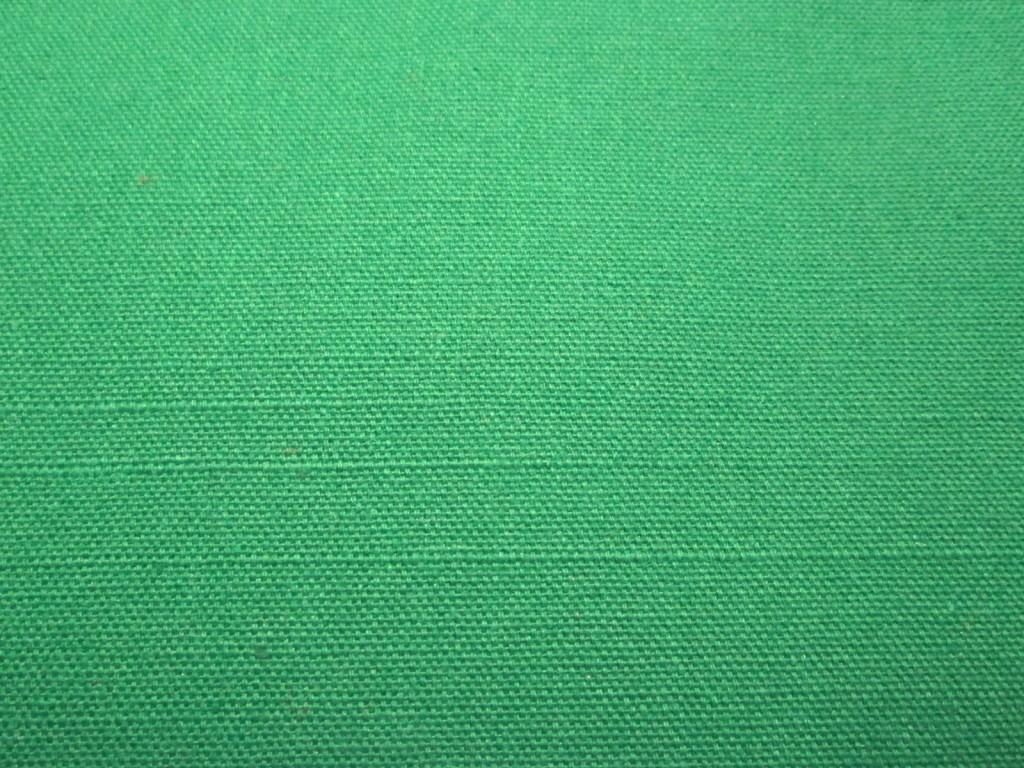 Green Cotton Canvas