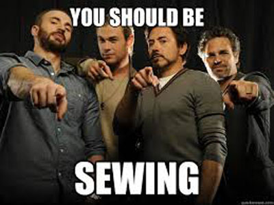 You Should be Sewing