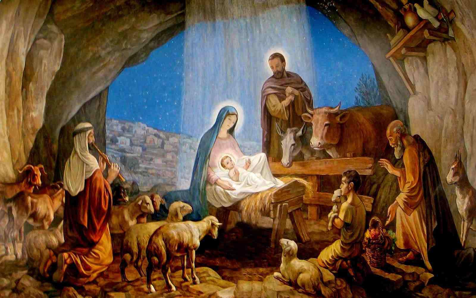 Beautiful Nativity Scene